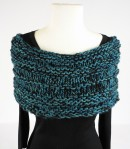 Deep Water - Cowl A as shoulder warmer