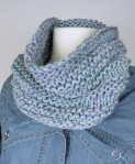 Signs of Spring - Cowl C - unfolded