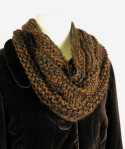 Winter Spice- Cowl B - not folded